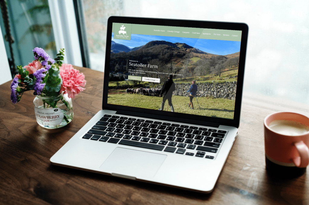 Seatoller Farm Website Design