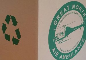 ink recyle for great north air ambulance