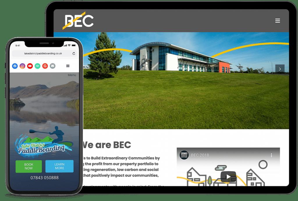 KCS Website Design Portfolio