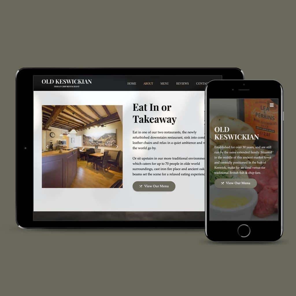 Old Keswickian website by KCS Keswick