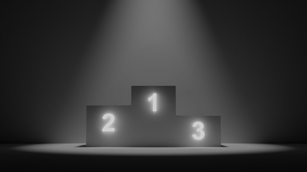 webiste podium, where do you rank